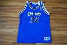 ORLANDO MAGIC 32 SHAQUILLE O'NEAL BASKETBALL JERSEY SHIRT 90s NBA CHAMPION YOUTH