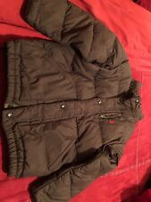 Polo Ralph Lauren Brown Down Winter Puffer Coat Jacket Size 6 Boys Kids