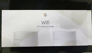Google WiFi 2er-Pack WLAN Router NEU + Rechnung - Verschweißt ungeöffnet + OVP
