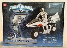 Bandai - Power Rangers In Space - Deluxe Silver Galaxy Cycle