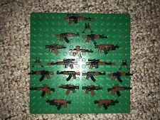 18 custom LEGO guns lot WW2 machine rifle future weapons navy army 4 minifigure