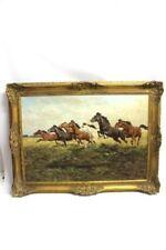 Künstlerische Malereien von 1950-1999 mit Tier-Motiv als Original der Zeit