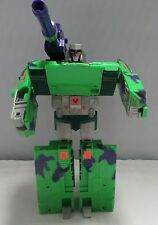 Vintage TRANSFORMER G2 Megatron Green Tank 1992 Hasbro Working Sounds Stickers