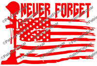 Honor The Fallen,Never Forget,Veteran 22,PTSD,Support Our Troops,Vinyl Decal
