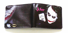 The Joker Suicide Squad Wallet purse Bifold Credit cards id window Jared Leto