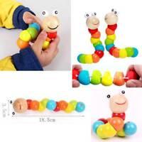 2Stk Twisty Fuzzy Wurm Wackeln Moving Kinder Trick Spielzeug Praktisch flYfE