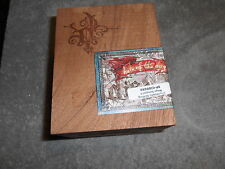 WOODEN CIGAR BOX WITH HINGES -  DIESEL  HAIR OF THE DOG  / # 1