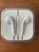 3.5mm HEADPHONES iPhone Earphones iPod Earbuds OEM Original Microphone -