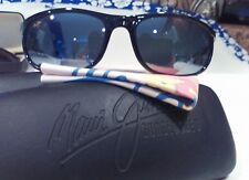 """Maui jim""""TYPHOON""""168-02 BLACK/GRAY,NEW DISPLAYS W/CASE,IMPOSSIBLE FIND,STUNNING!"""