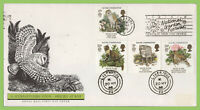 G.B. 1986 Nature Conservation on Royal Mail First Day Cover, Slogan & cds