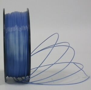 ABS 3D Printer Filament - Blue to Natural by Temperature