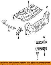 MAZDA OEM 95-98 Protege Exterior-Rear-Emblem Badge Nameplate BC5A51710