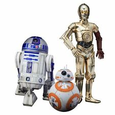 Star Wars Force Awakens C-3PO R2-D2 BB-8 Artfx+ 1:10 Scale Statue Set Kotobukiya