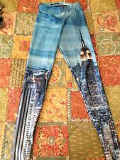Black Milk Clothing New York Skyline Leggings Size XS Blackmilk