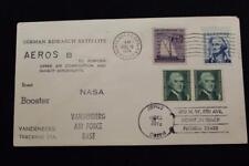 SPACE COVER 1974 MACHINE CANCEL AEROS-B GERMAN RESEARCH SATELLITE LAUNCH (4970)