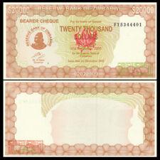 Zimbabwe 20000  20,000 Dollars, 2003, P-23, UNC