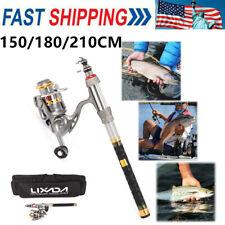 2020 Telescopic Fishing Rod Reel Combo Full Kit Spinning Fishing Reel Pole Set