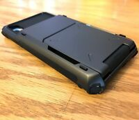 iPhone X / XS VRS Design [Damda Folder] Verus Credit Wallet Slot Case + GLASS