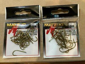 50 Matzuo -Plain Shank Offset Straight Eye Size 4 Bronze 103022