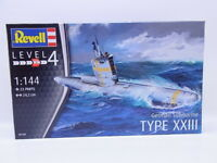 LOT 32703 | Revell 05140 German Submarine Type XXIII 1:144 Bausatz NEU in OVP