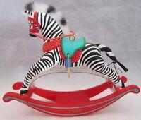 Hallmark Keepsake Ornament Zebra Fantasy Handcrafted 1999