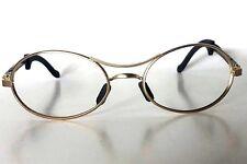 Vintage B&L Ray Ban W2178  Gold Matte Eclipse Orbs Predator Wrap Sunglasses NOS