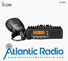 Icom Ic-F6021 Uhf400-470 - 45W Analog Mobile Radio w/128 Channels & Display