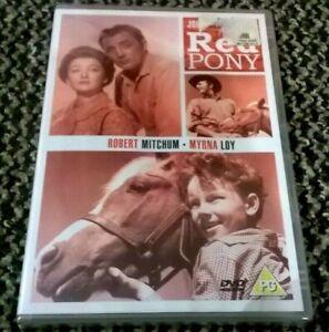 THE RED PONY - DVD - NEW & SEALED - UK REGION 2 - Robert Mitchum, Myrna Loy