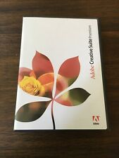 Adobe Creative Suite Premium software for Mac OS X 5-Disc Set W/ Serial Numbers