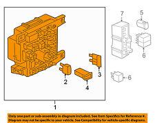 MITSUBISHI OEM 2010 Lancer 2.0L-L4-Fuse Box-Fuse & Relay Box 8637A478