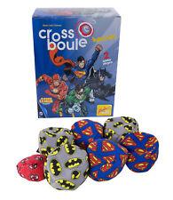 Noris Cross Boule Boccia Petanque Spiel Heroes Batman vs Superman - Set 6 Kugeln