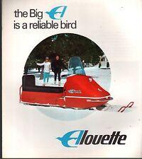 VINTAGE 1968 ALOUETTE SNOWMOBILE SALES BROCHURE VERY NICE++ 6 PG  (723)