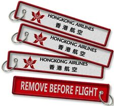 Hong Kong Airlines-Remove Before Flight crew tags x2