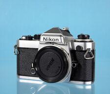 Nikon FE Gehäuse silber SLR Camera Kamera appareil chrome - (15139)