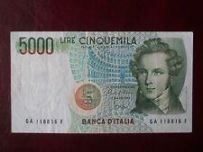 BANCONOTA LIRE 5000 BELLINI SERIE A