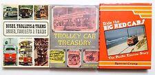 Set of 3 Vintage Trolley Books - (eb2)