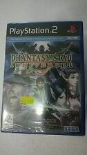 PS2 SEALED SONY PLAYSTATION 2 PHANTASY STAR UNIVERSE - SEGA -