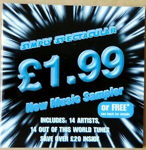 Simply Spectacular - New Music Sampler - CD