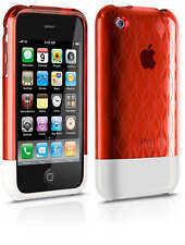Philips DLM1336/10 Polycarbonate Hard Shell Case - Fits iPhone 3G 3GS Red/White