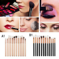 12pcs Eyeshadow Blending Makeup Brushes Set Eye Make Up Brush Eyebrow Eyeliner