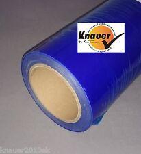 Schutzfolie  blau 25 cm 100m Folie Glasschutzfolie selbstklebend