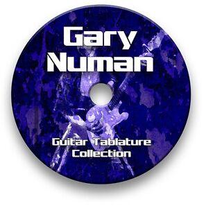 Gary Numan Pop Rock Guitar Tabs Tablature Lesson Software CD - Guitar Pro