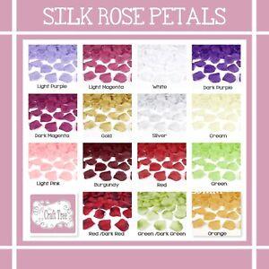 Silk Rose Petals - Weddings, Birthday Celebrations, Party Decoration Confetti
