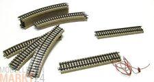 MÄRKLIN Set Gleismaterial bestehend aus 12x gebogen, 1x gerade,1x Anschlussgleis