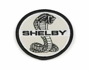 """Patch - Shelby Cobra Black & White 2.5"""" * Sew or Iron * Ships FREE to USA GT350"""