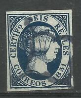 5188-SELLO CLASICO  ISABEL II FALSO,USADO,VEAN IMAGEN,FORGERY.