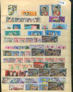 s3134 Stamp Accumulation Thailand