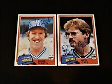Rich Gale 1981 Topps #544 Autograph KC Royals Signed Card Vintage '80s Auto