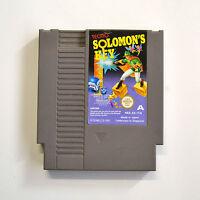 [ NES ] Salomon's Key PAL A ITA Usato Nintendo 8 Bit Solo Cartuccia no Manuale