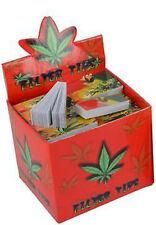 ROACH TIPS 100X BOOKLETS {FULL BOX} BARGAIN 5000X FILTER TIPS SMOKING ROACH